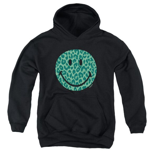 Smiley World Purrfect Face Youth Pull Over Hoodie