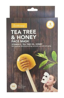 Spatherapy Tea Tree & Honey Face Mask - 5 Count