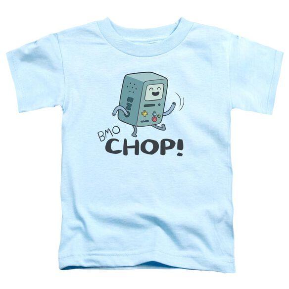 Adventure Time Bmo Chop Short Sleeve Toddler Tee Light Blue T-Shirt