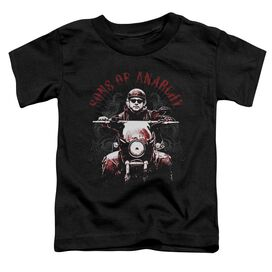 Sons Of Anarchy Ride On Short Sleeve Toddler Tee Black T-Shirt
