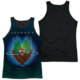 Journey Evolution Sub Adult Poly Tank Top Black Back