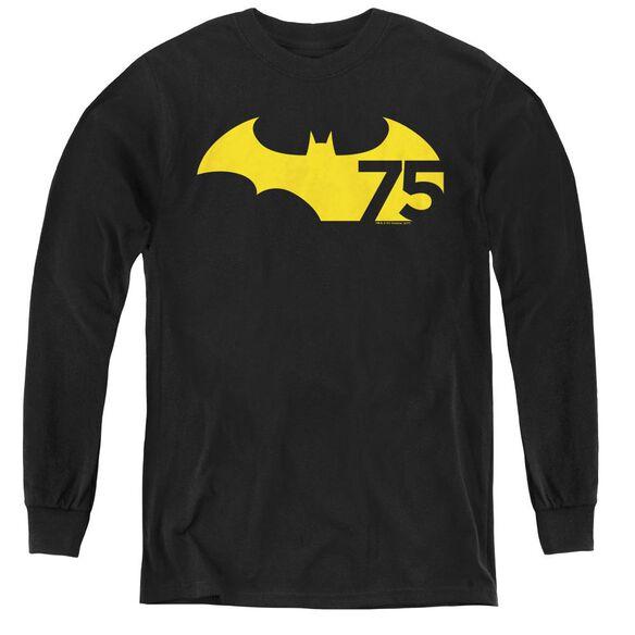 Batman 75 Logo 2-youth Long