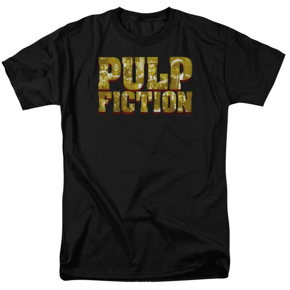 Pulp Fiction Pulp Logo Short Sleeve Adult T-Shirt
