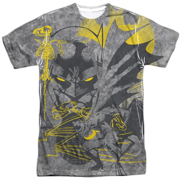 Batman Symbiotic Short Sleeve Adult 100% Poly Crew T-Shirt