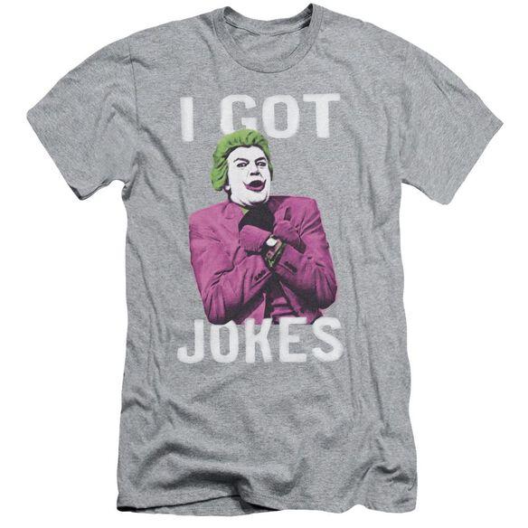 Batman Classic Tv Got Jokes Short Sleeve Adult Athletic T-Shirt