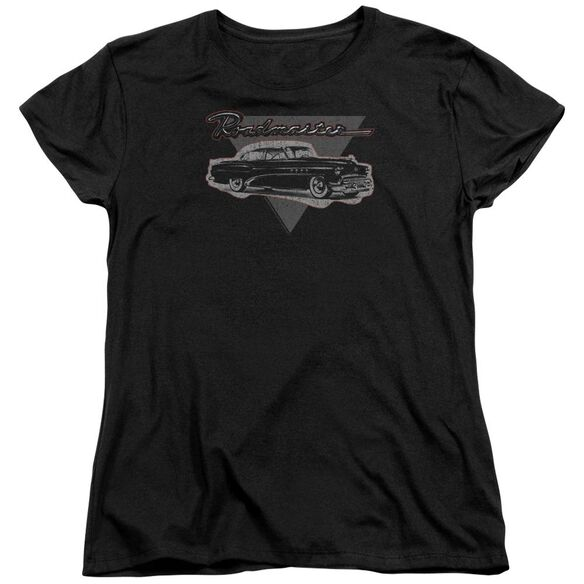 Buick 1952 Roadmaster Short Sleeve Womens Tee T-Shirt