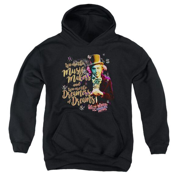 Willy Wonka And The Chocolate Factory Music Makers Youth Pull Over Hoodie