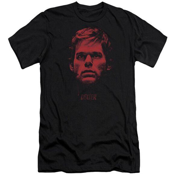 Dexter Bloody Face Premuim Canvas Adult Slim Fit