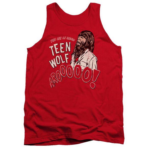 Teen Wolf Animal Adult Tank