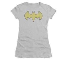 Batgirl Logo Distressed Juniors T-Shirt