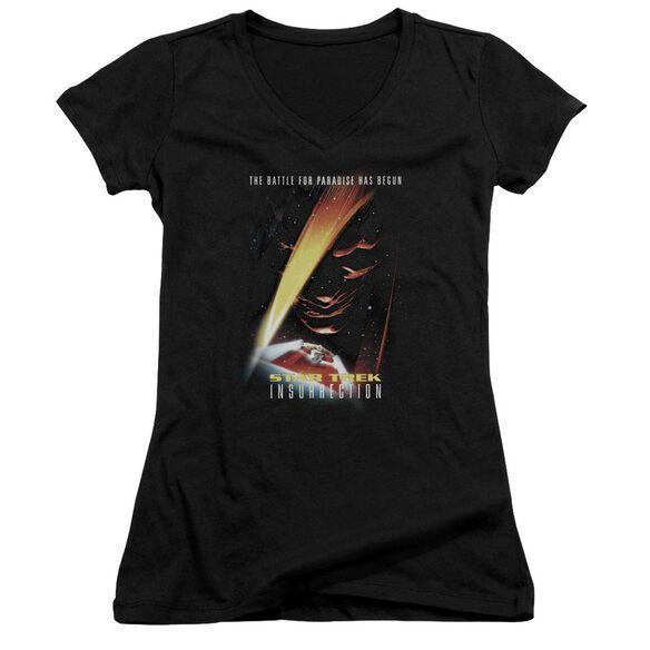 Star Trek Insurrection(Movie) Junior V Neck T-Shirt