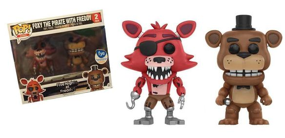 Pop Exclusive Five Nights At Freddy S Foxy The Pirate