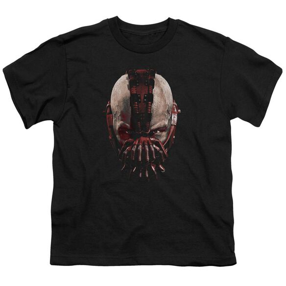 Dark Knight Rises Bane Mask Short Sleeve Youth T-Shirt