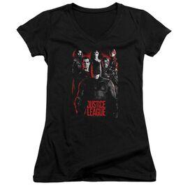 Justice League Movie The League Junior V Neck T-Shirt