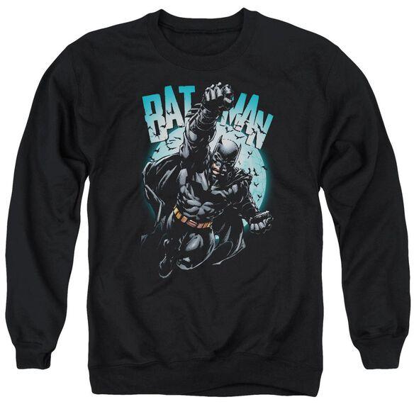 Batman Moon Knight Adult Crewneck Sweatshirt