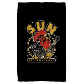 Sun Rocking Rooster Towel