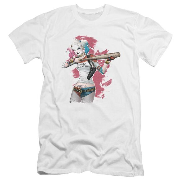 Suicide Squad Bat Aim Premuim Canvas Adult Slim Fit