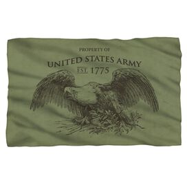 Army Property Fleece Blanket