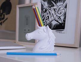 Kikkerland Pencil Holder Unicorn