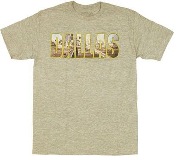 Dallas Skyline T-Shirt Sheer