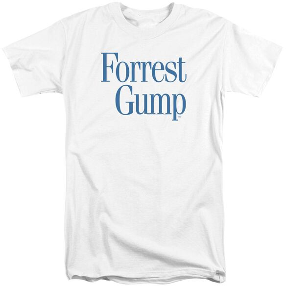Forrest Gump Logo Short Sleeve Adult Tall T-Shirt