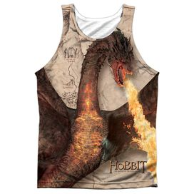 Hobbit Smaug Attack Adult 100% Poly Tank Top