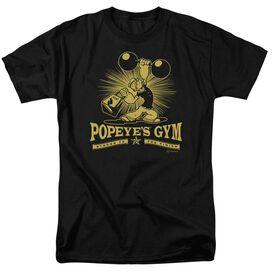 Popeye Popeyes Gym Short Sleeve Adult T-Shirt