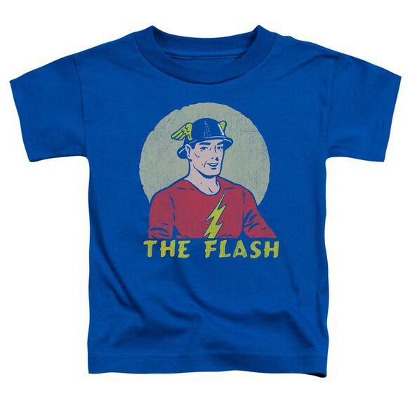 Dc Faded Circle Short Sleeve Toddler Tee Royal Blue T-Shirt