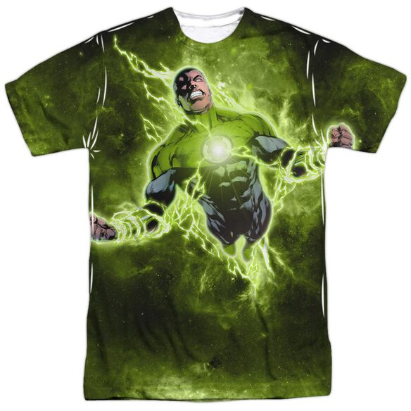 Green Lantern Inner Strength Short Sleeve Adult Poly Crew T-Shirt