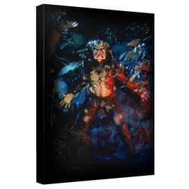 Predator Still Canvas Wall Art With Back Board