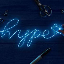 Merkury Innovations D.I.Y. Wire Neon Lights Kit [Blue]