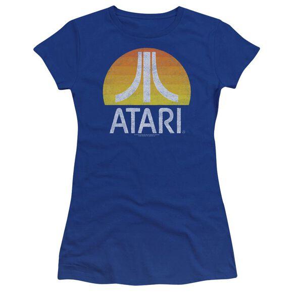 Atari Sunrise Eroded Premium Bella Junior Sheer Jersey Royal