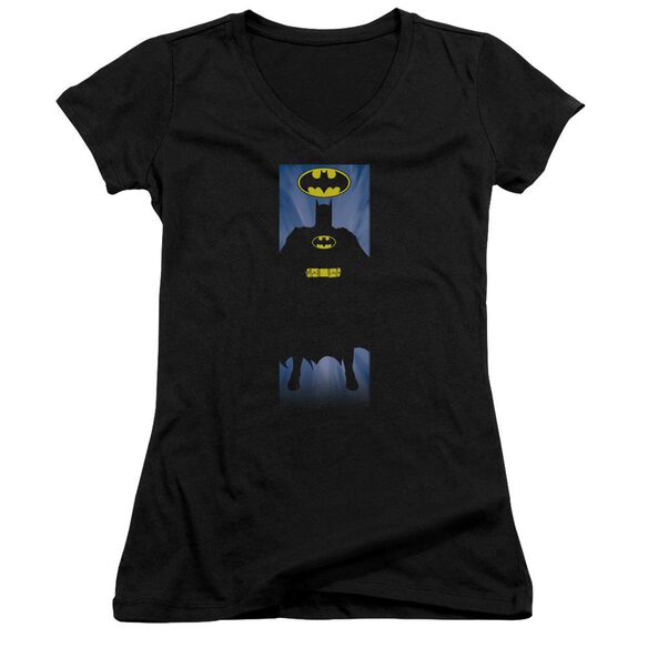 Batman Batman Block Junior V Neck T-Shirt