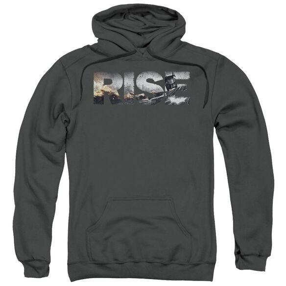 Dark Knight Rises Title Adult Pull Over Hoodie