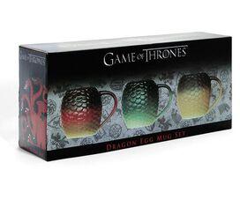 Game of Thrones Dragon Egg Mug Set [3 pack]
