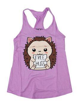 Hedgehog Free Hugs Women's Tank Top