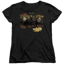 MIRRORMASK HUNGRY - S/S WOMENS TEE - BLACK T-Shirt