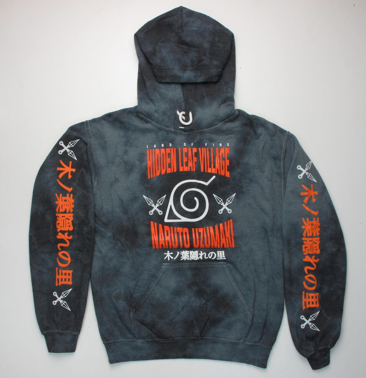 Naruto Leaf Ninja Academy Hoodie
