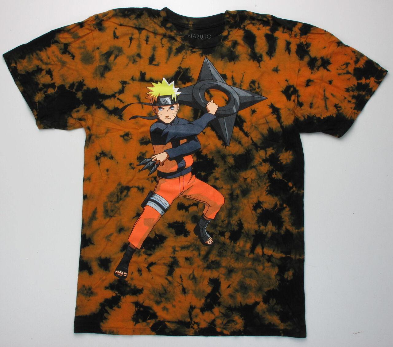 Naruto Kunai Shuriken Tye Dye T-Shirt