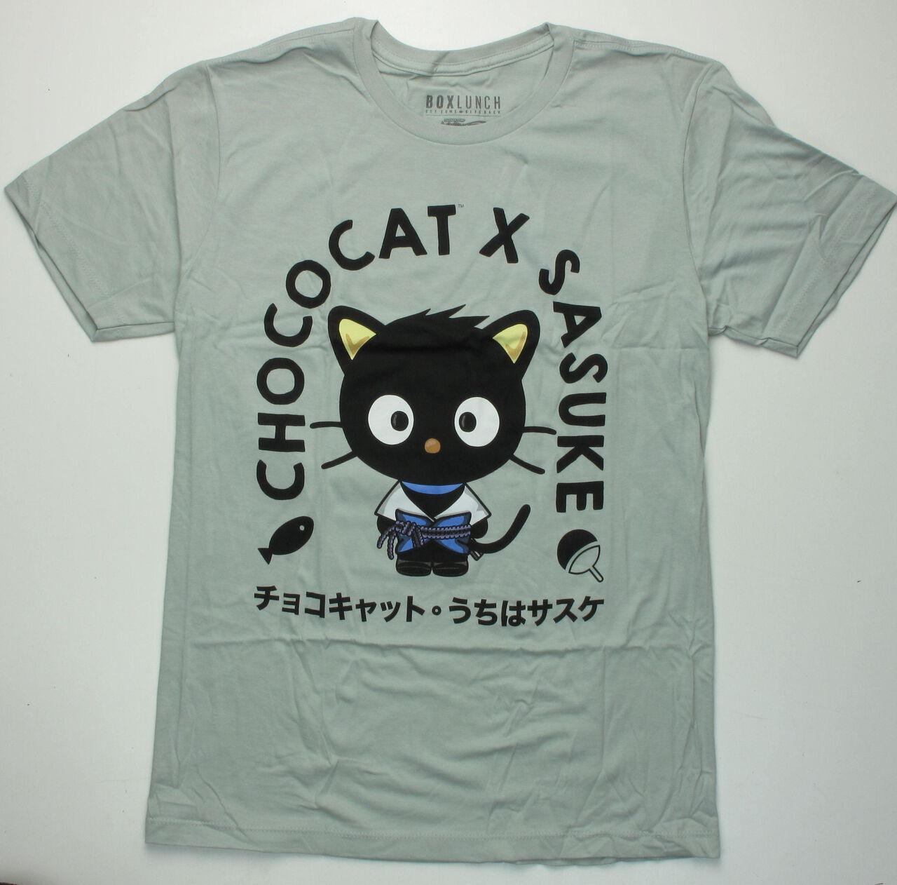 Naruto Hello Kitty Sasuke T-Shirt