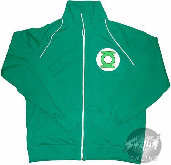 Green Lantern Logo Track Jacket