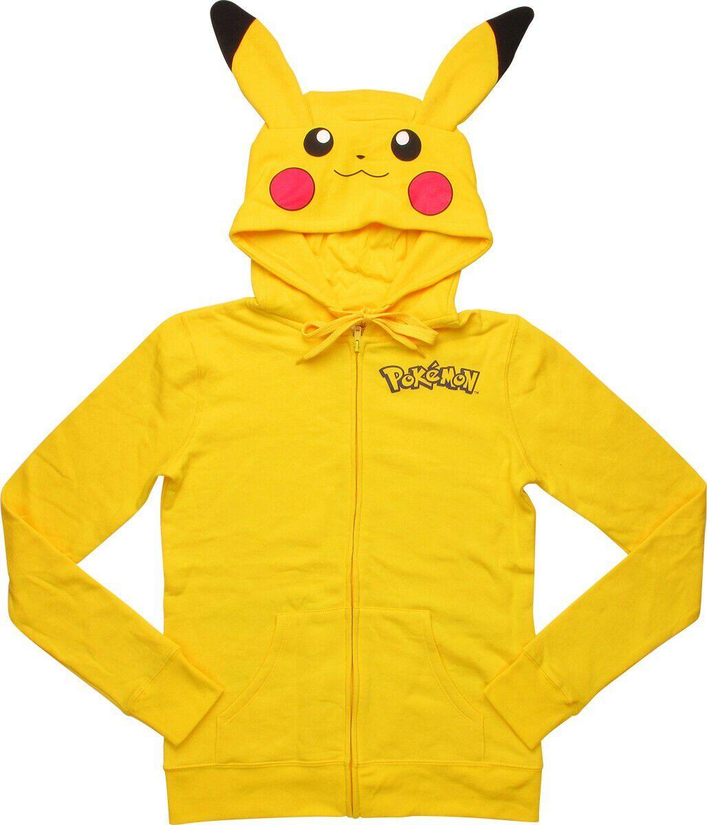 Pokemon Pikachu Costume Zip Junior Hoodie