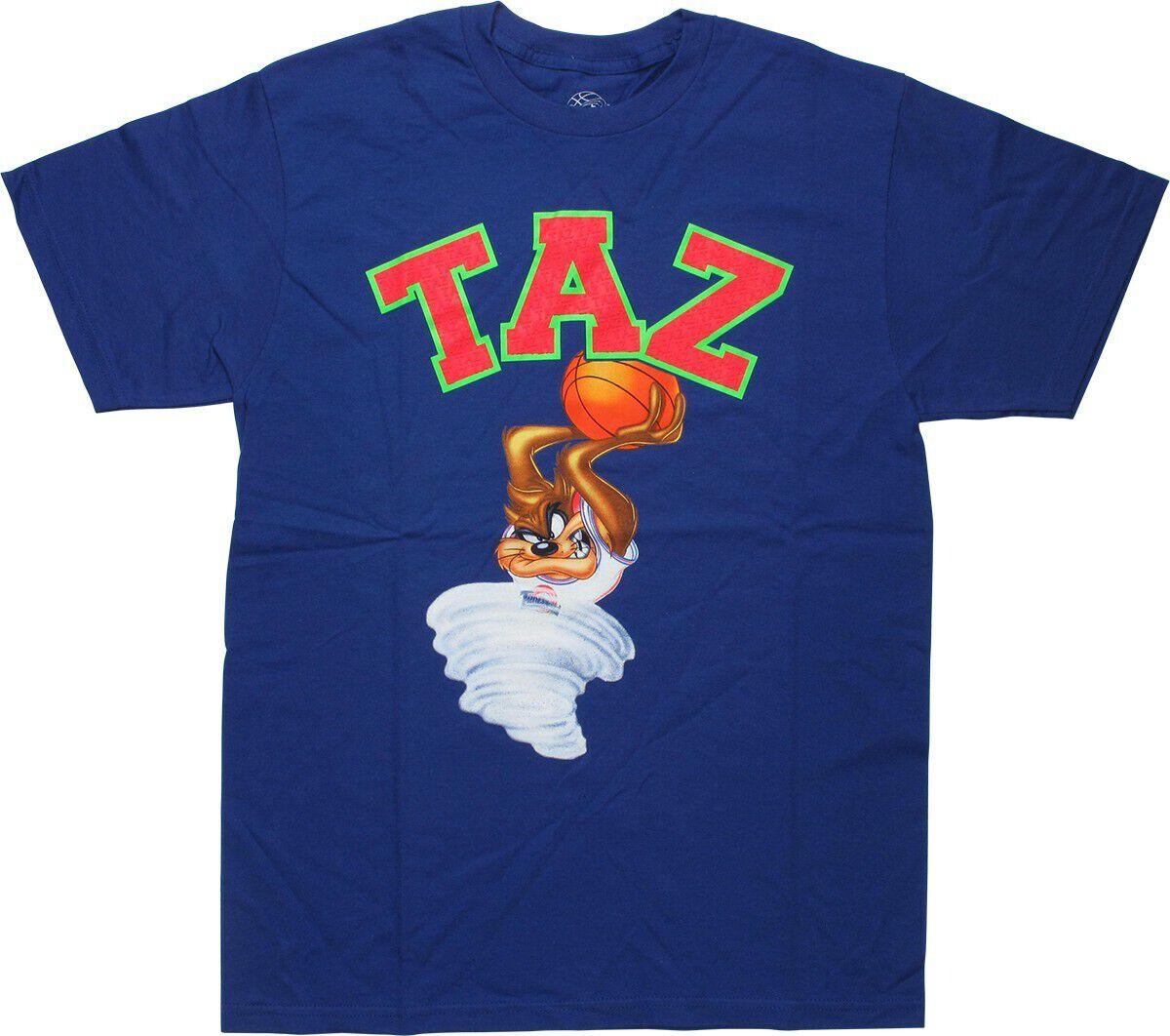 Space Jam Taz Slam Dunk Purple T-Shirt