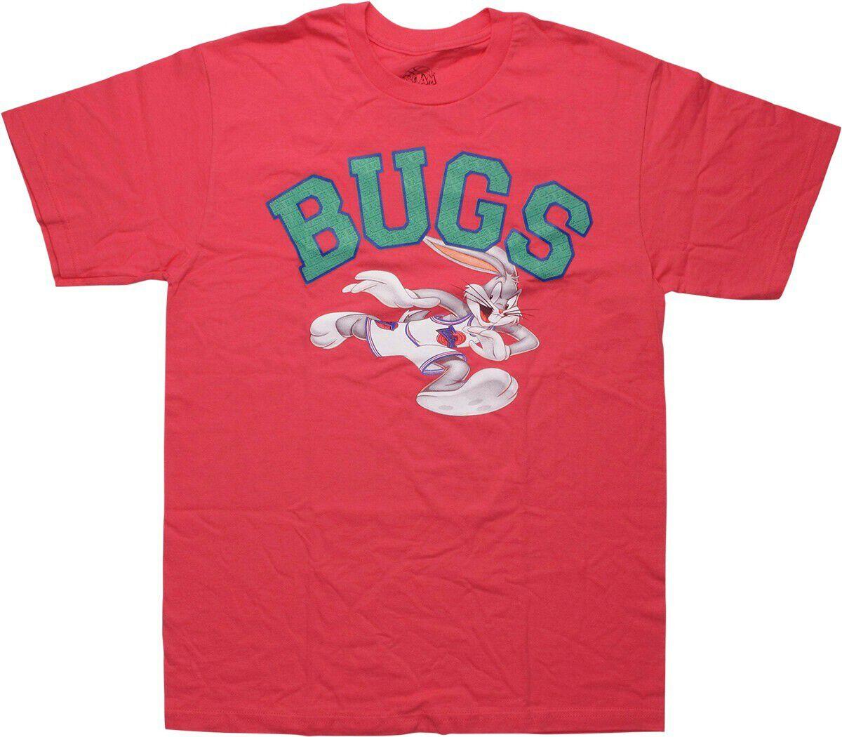 Space Jam Bugs Bunny Baller Pink T-Shirt