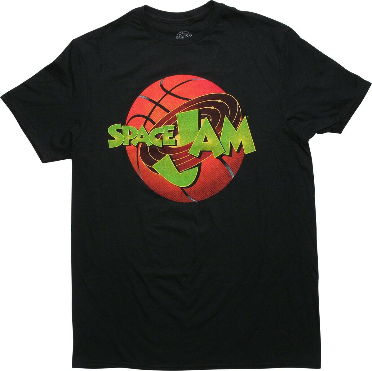Space Jam Logo Black T-Shirt