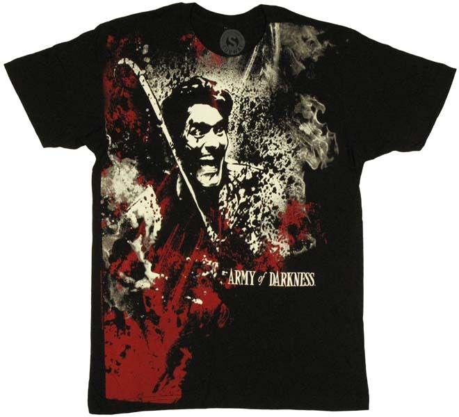 Army of Darkness Ash T-Shirt Sheer