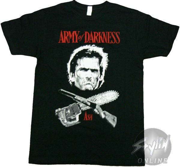 Army of Darkness Cross T-Shirt Sheer