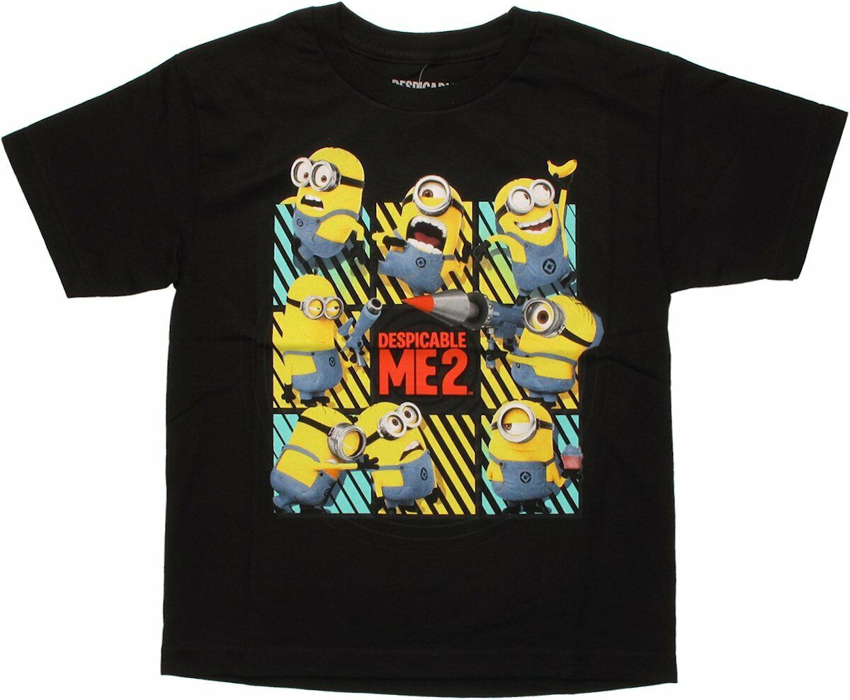 Despicable Me 2 Minion Grid Youth T-Shirt