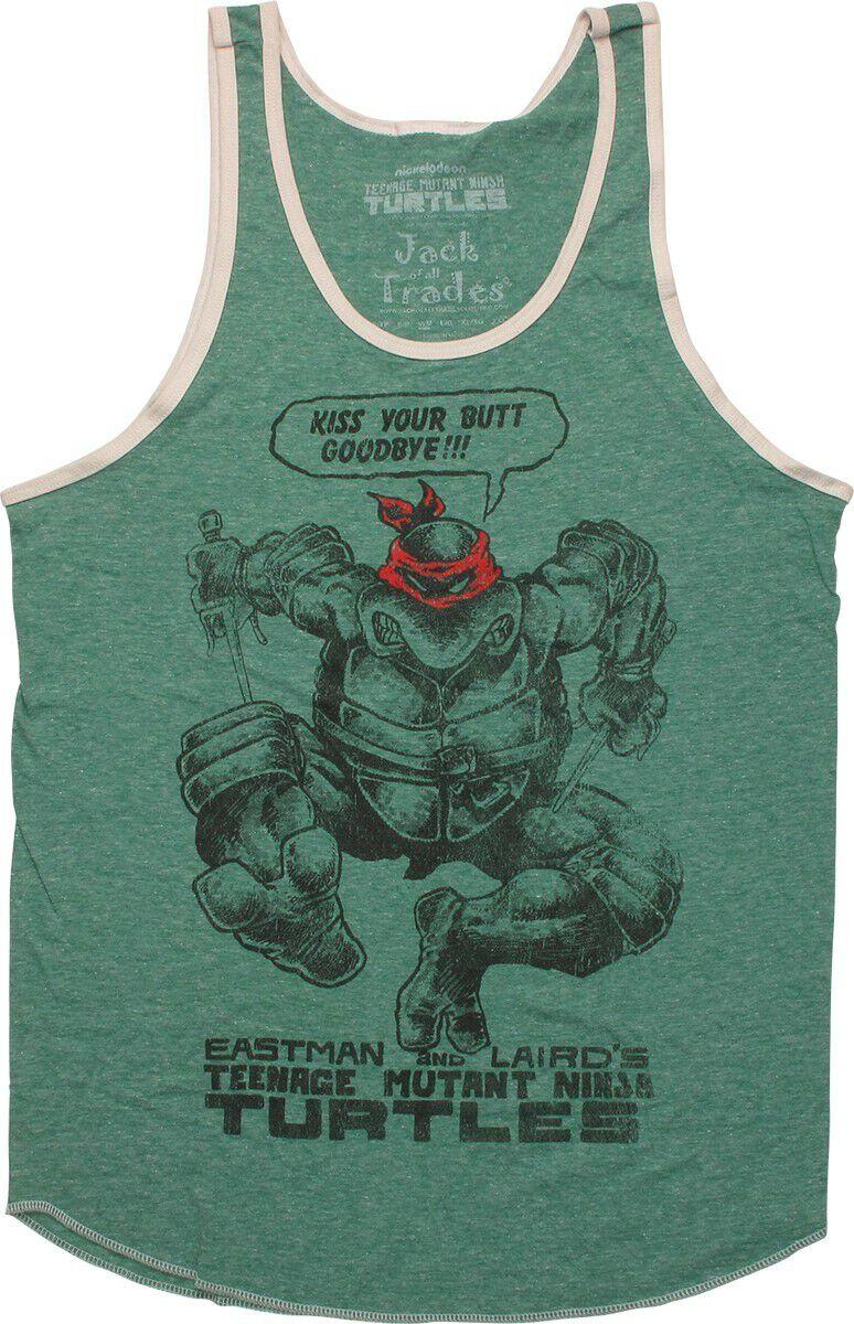 Ninja Turtles Raphael Goodbye Tank Top