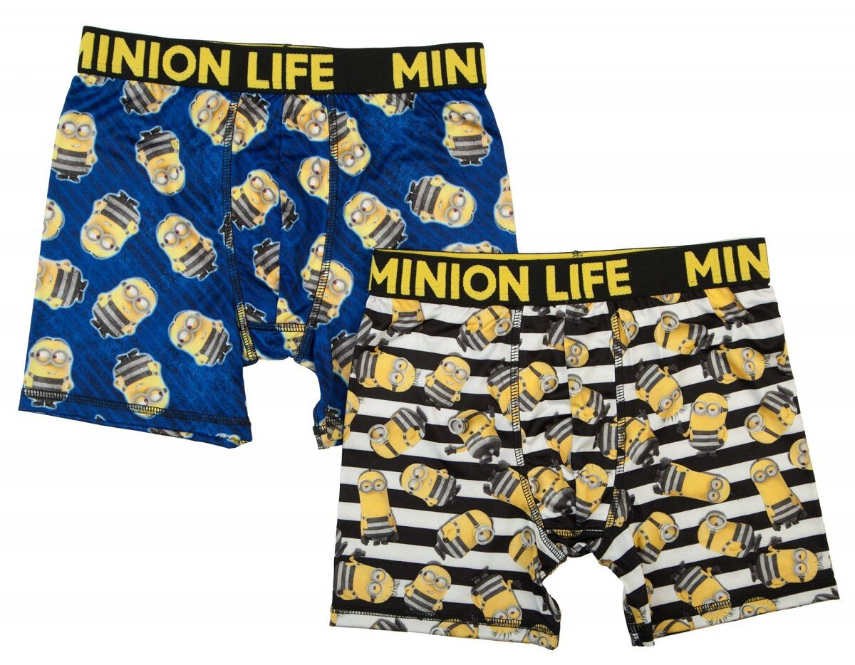 Despicable Me Minion Life 2-Pk Boys Boxer Briefs